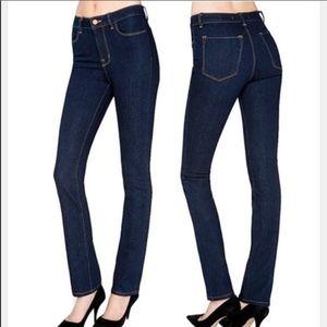 J Brand Bardot Pencil Leg Skinny Jeans in Indigo